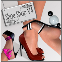 Shoe Shop V4 3D Figure Essentials nikisatez