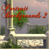 Melkor's Portrait Backgrounds 2 2D 3D Models -Melkor-