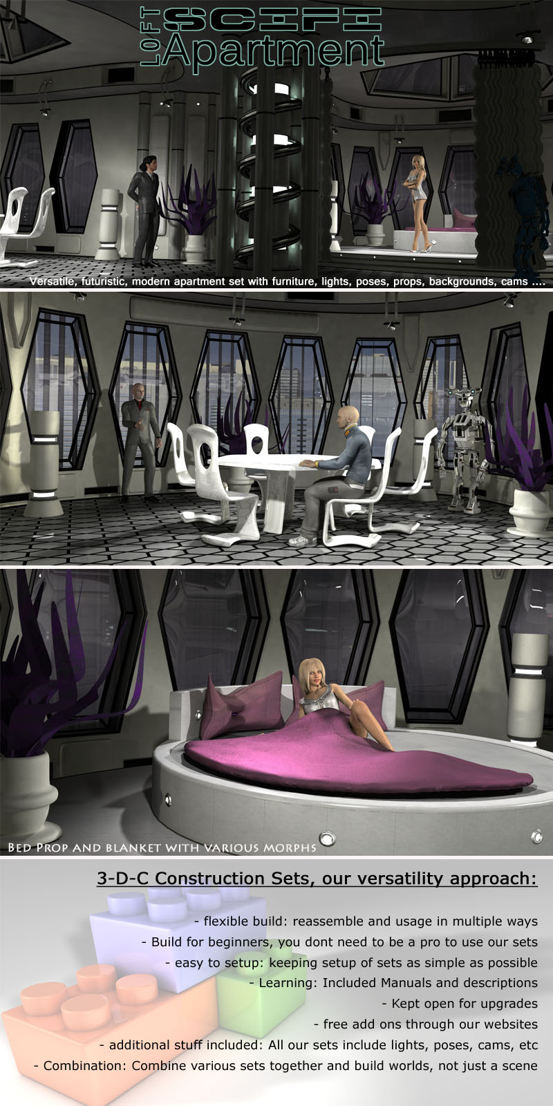 SciFi Loft Apartment