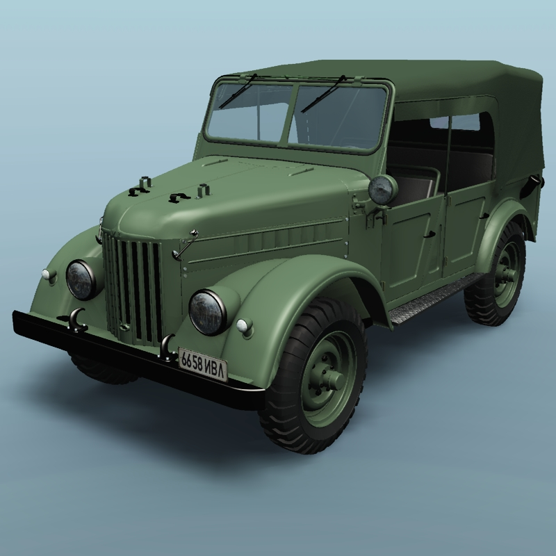 Gaz 69 Command Car