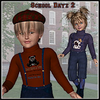 School Dayz 2 for K4 3D Figure Assets LadyFay