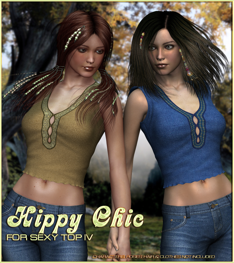 Hippy Chic for Sexy Top IV