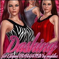 Dashing for Elegant for V4/A4/G4/PBIV 3D Figure Essentials ShanasSoulmate