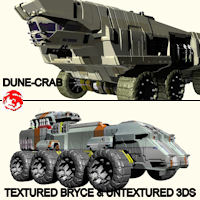 2011 DUNE TRUCKS Transportation Themed rj001