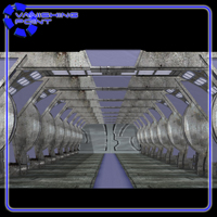 Sci-Fi Hallways (for Poser) image 2