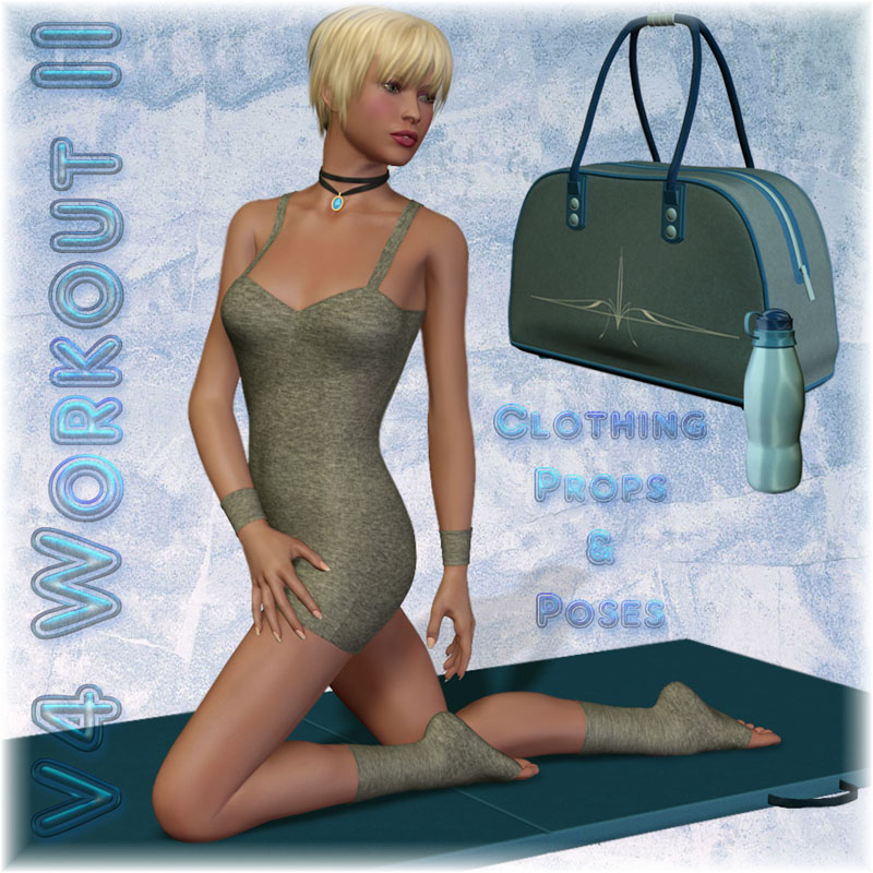 V4 Workout II - Outfit, Props & Poses