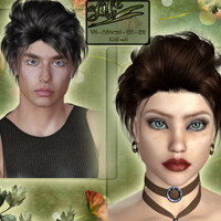 Life Hair for V4 and M4 image 1