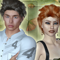Life Hair for V4 and M4 image 6