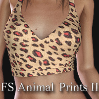 FS Animal Prints II 3D Models 2D Graphics FrozenStar
