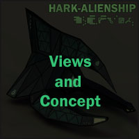 Alien Spaceship I by 3-D-C image 1