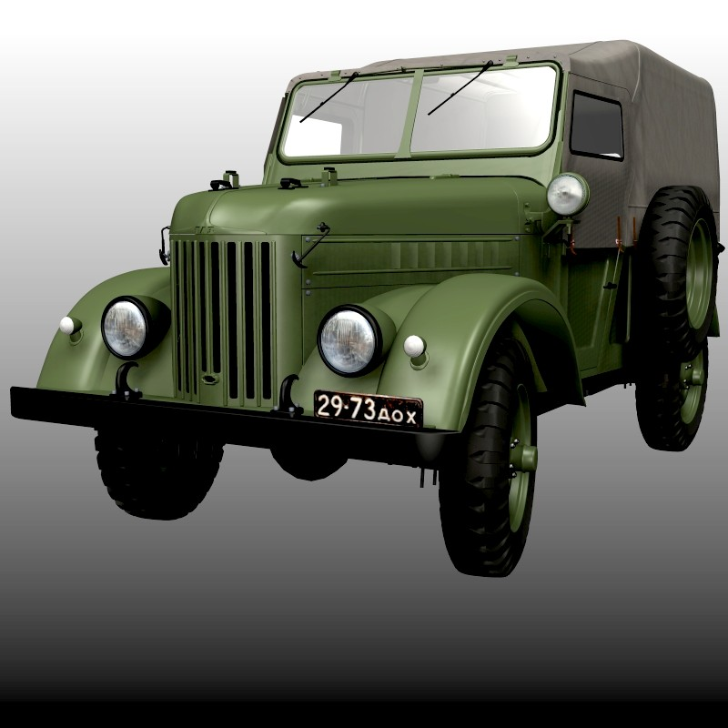 GAZ 69 TROOP CARRIER