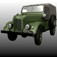 GAZ 69 TROOP CARRIER Themed Transportation Nationale7