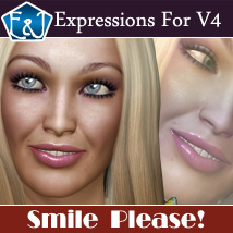 Smile, Please! 3D Figure Assets EmmaAndJordi