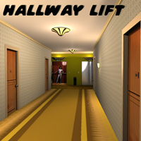 HallwayLift 3D Models greenpots