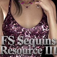 FS Sequins Resource III 3D Models 2D Graphics FrozenStar
