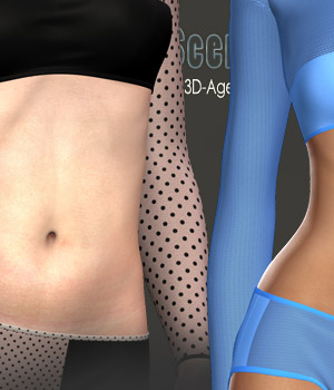 Sensual Scents 5 - Sexy Baby III 3D Models 3D Figure Assets nirvy