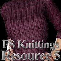 FS Knittings Resource V 3D Models 2D Graphics FrozenStar