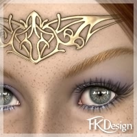 A Celtic Delight 3D Figure Assets fabiana