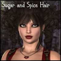 Sugar and Spice Hair Hair Propschick