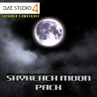 Skyreach Moon Set for Daz 4 3D Models Razor42