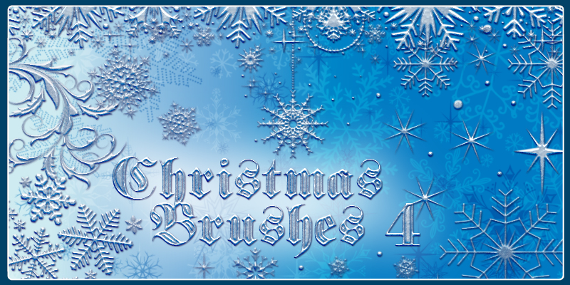 Christmas Brushes 4