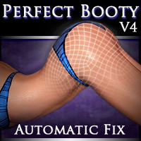 Perfect Booty V4 - Automatic Fix 3D Figure Assets Xameva
