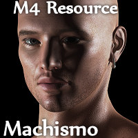 RM Machismo M4 3D Figure Assets rebelmommy