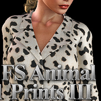 FS Animal Prints III 3D Models 2D Graphics FrozenStar