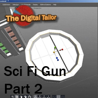 Sci Fi Gun Part 2 3D Models Tutorials : Learn 3D Fugazi1968
