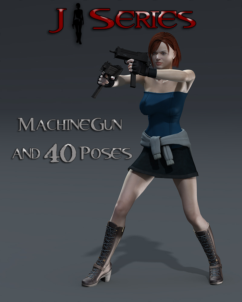 Slide3D J Weapon and Poses
