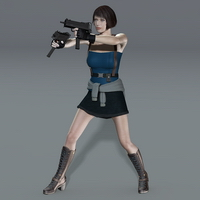 Slide3D J Weapon and Poses image 3