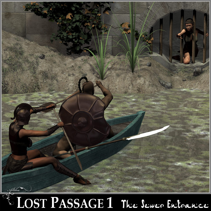 Lost Passage 1 - The Sewer Entrance