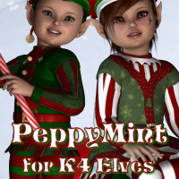 PeppyMint K4 3D Models 3D Figure Essentials JudibugDesigns