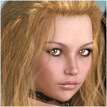 Vibrant Kouros Hair Hair Software P3Design