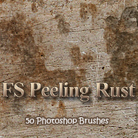 FS Peeling Rust 2D Graphics 3D Models FrozenStar