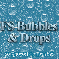 FS Bubbles & Drops 3D Models 2D Graphics FrozenStar