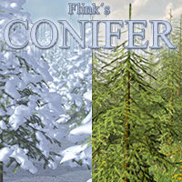 Flinks Conifer Props/Scenes/Architecture Flink