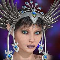 Finishing Touches: Headpieces Volume 1 3D Models ryverthorn