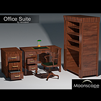 Office Suite 40's 3D Models RetroDevil