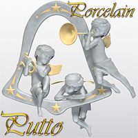 Porcelain - Putto Software Themed Poses/Expressions Materials/Shaders Accessories SaintFox