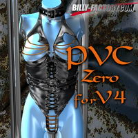 PVC ZERO for VAGS4 3D Figure Assets billy-t