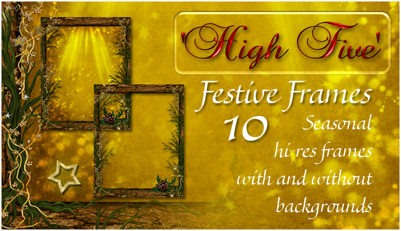 High Five - Festive Frames