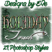 DbE-Holiday Touch 2D 3D Models DesignsbyEve