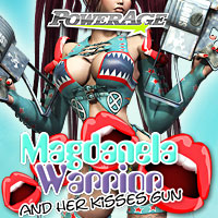 Magdanela Warrior V4/A4/G4/Elite 3D Figure Assets 3D Models powerage