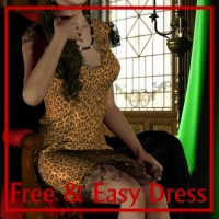 Free & Easy Dress 3D Figure Essentials 3D Models MaNoiRoux