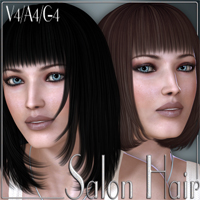 Salon Hair V4-A4-G4 by nikisatez
