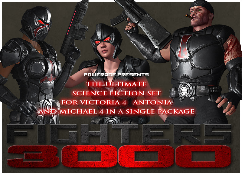 FIGHTERS 3000 for V4/Antonia/M4 by powerage