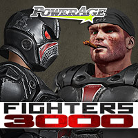 FIGHTERS 3000 for V4/Antonia/M4 3D Models 3D Figure Assets powerage