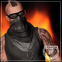 THE BURNER for Flaming Man 3D Figure Essentials 3D Models outoftouch