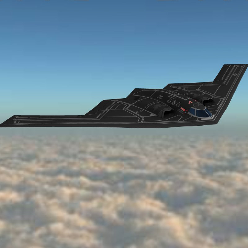 B2 Stealth Bomber (for Vue)